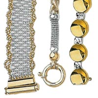 14k Italian Exclusive Set Bracelets