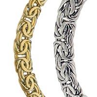 14k Italian Bizantina (Byzantine) Necklaces