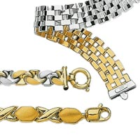 14k Italian Reversible Bracelets
