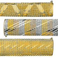 14k Italian Cleopatra Bracelets