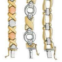 14k Stampato Bracelets