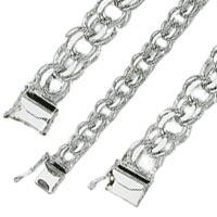 White Gold Charm Bracelets