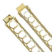 14k Coin Bracelets