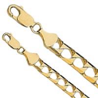 14k Square Cuban Link Bracelets