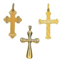 14k Italian Crosses