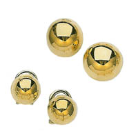 14k Ball Earrings