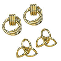 14k Fancy Tube Earrings