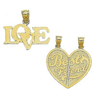 14k Talking Charms